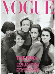 Screenshot | Cover Vogue 1990 von Peter Lindbergh