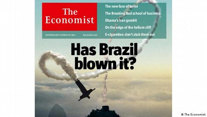 O Brasil estragou tudo?, questionava a Economist em 2013