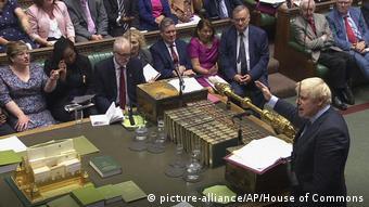 England: Premierminister Boris Johnson (picture-alliance/AP/House of Commons)
