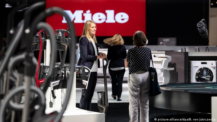 Deutschland | Technik-Messe IFA 2019 in Berlin (picture-alliance/dpa/B. von Jutrczenka)