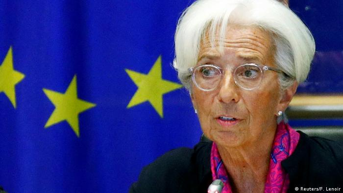 Belgien, Brüssel: Anhörung der EZB Präsidentin Christine Lagarde (Reuters/F. Lenoir)
