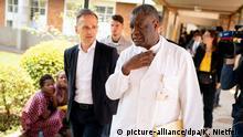 Kongo, Bukavu: Außenminister Heiko Maas im Ebola-Gebiet