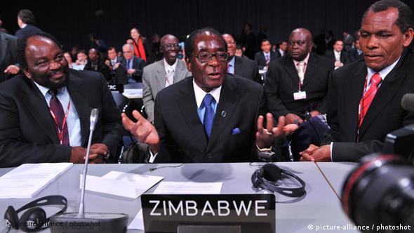 Kopenhagen Klima-Konferenz 2009 Robert Mugabe Präsident Simbabwe