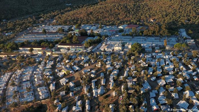 Griechenland Flüchtlingslager Moria auf der Insel Lesbos (Reuters/G. Moutafis)