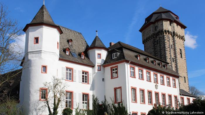 Martinsschloss in Oberlahnstein von außen (Stadtverwaltung Lahnstein)