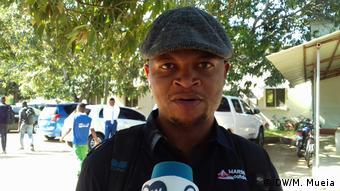 Ricardo Raboco, Politologe aus Mosambik