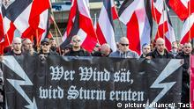 Right-wing extremism (picture-alliance/J. Tack)