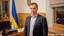 Ukraine Tymofiy Milovanov, Mininister für wirtschaftliche Entwicklung