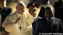 Mosambik Maputo Papst Franziskus & Präsident Filipe Nyusi