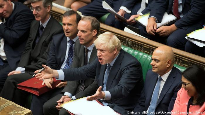 Brexit - Debatte im Unterhaus (picture-alliance/dpa/AP/House of Commons/J. Taylor)