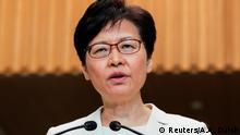 China Hongkong PK Carrie Lam