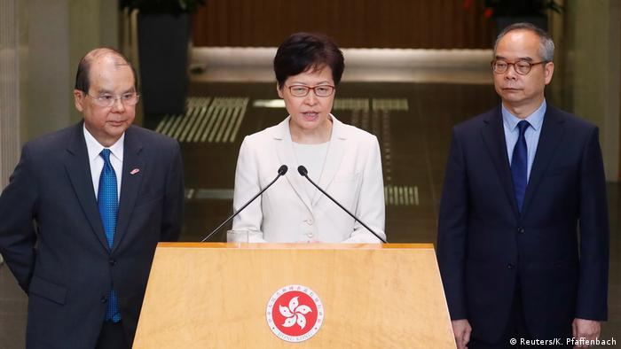 China Hongkong PK Carrie Lam (Reuters/K. Pfaffenbach)