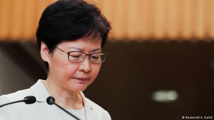 Hong Kong: Carrie Lam