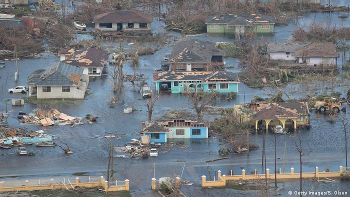 Bahamas Zerstörung durch Hurrikan Dorian (Getty Images/S. Olson)