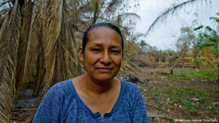 Vania Montenegro Araníbar, agricultora de Peniel, Chiquitania, Bolivia.