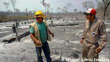Bolivien Amazonas Waldbrände in Region Chiquitania