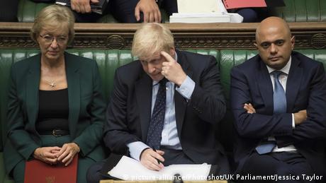 Brexit Debatte im britischen Unterhaus (picture-alliance/Photoshot/UK Parliament/Jessica Taylor)