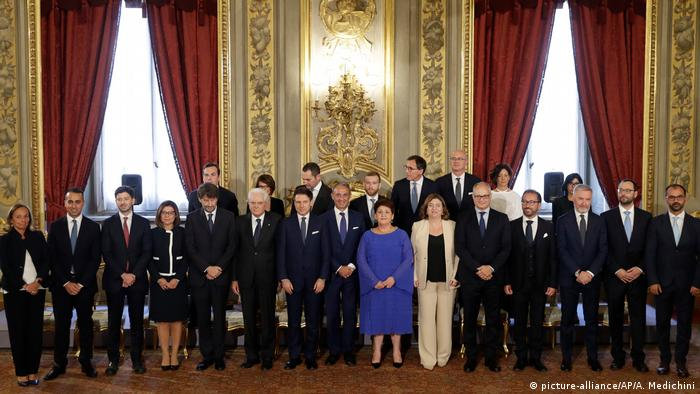 Italy's new government in Rome