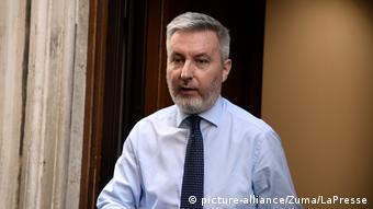 Ο Ιταλός υπουργός Άμυνας Λορέντσο Γκουερίνι