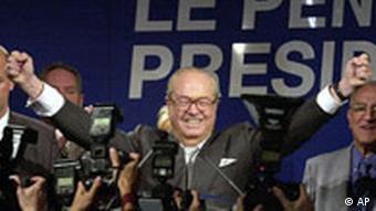 Wahlsieg für Jean-Marie Le Pen in Frankreich