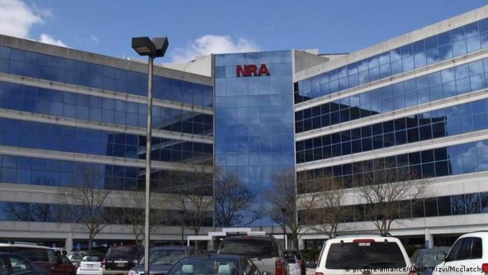 The NRA head office in Fairfax, Virginia