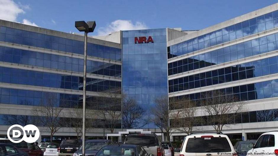US: National Rifle Association declares bankruptcy