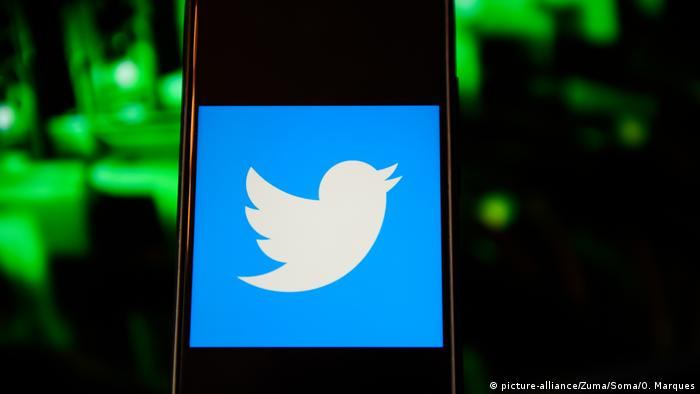 Twitter Logo (picture-alliance/Zuma/Soma/O. Marques)
