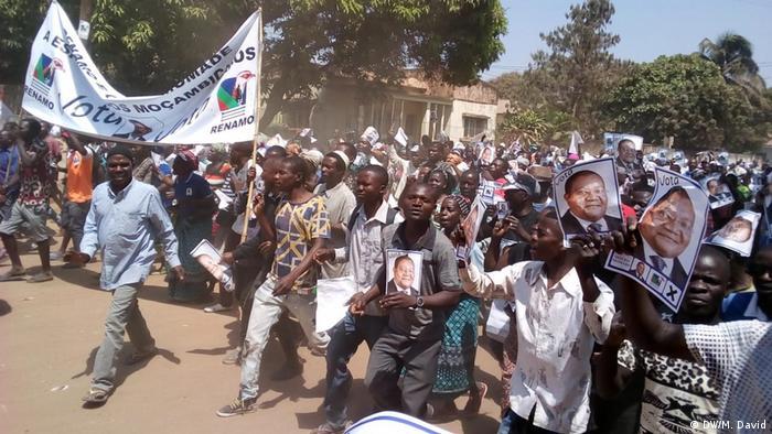 Mosambik Regionalwahlen in Niassa | Anhänger von RENAMO
