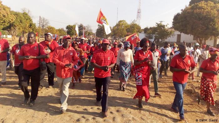 Mosambik Regionalwahlen in Niassa | Anhänger von FRELIO