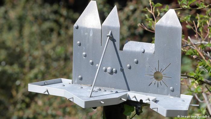Солнечные часы - крепость из стали