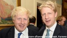 Boris Johnson und Jo Johnson
