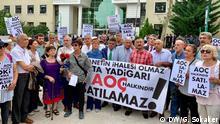 Türkei Protest gegen Abholzung in Ankara