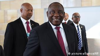 Südafrika Kapstadt World Economic Forum