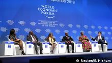 Südafrika Kapstadt World Economic Forum