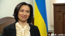 Kiew, UA Olena Tanasevych, Leiterin des Antikorruptionsgerichtes in der Ukraine