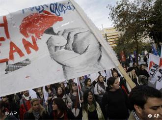 Prosvjedi protiv mjera štednje u Grčkoj