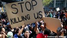 Südafrika Protest gegen Frauengewalt