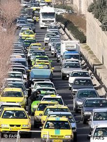CNG Tankstelle in Teheran