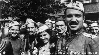 Болгарские солдаты в 1944 г.