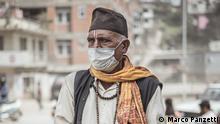 Nepal Luftverschmutzung in Kathmandu