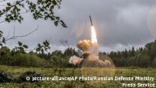 Russland Militär Marschflugkörper Iskander-K