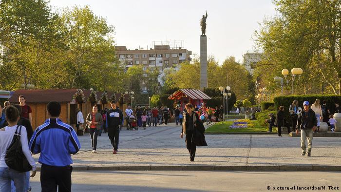Памятник советскому солдату в Бургасе