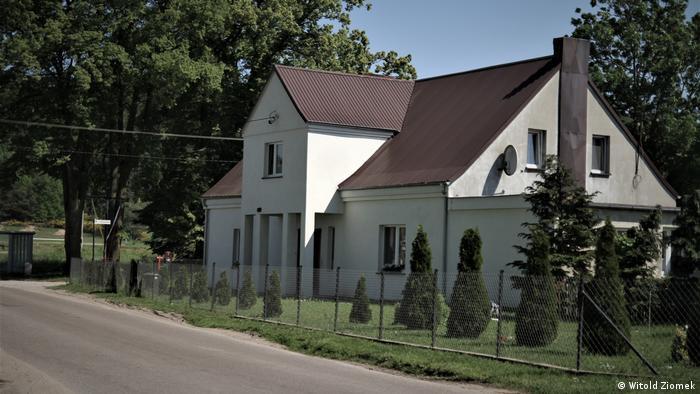 Dom w Zelewie, gdzie wychowywał się Erich von dem Bach-Zelewski
