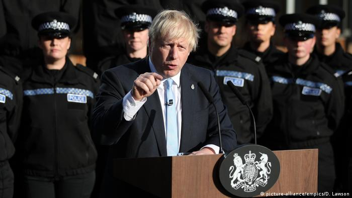 England Premierminister Boris Johnson (picture-alliance/empics/D. Lawson)
