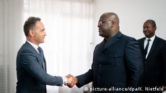 En septembre, Heiko Maas le ministre allemand des Affaires étrangères s'était rendu à Kinshasa