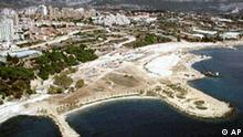 Kroatische Küste bei Split