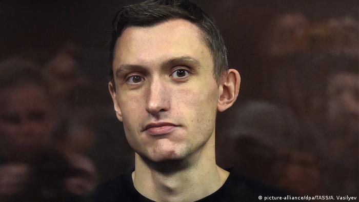 Российский активист Константин Котов (сентябрь 2019 г.)