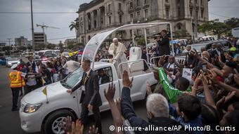 Papst Franziskus in Mosambik