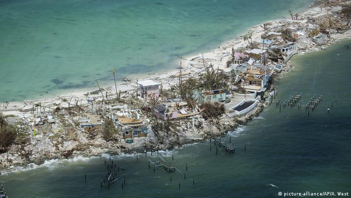 Abaco Island was one of the worst hit areas by Hurricane Dorian