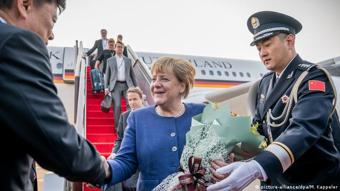 China: Bundeskanzlerin Merkel in Peking
